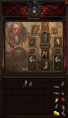 Инвентарь Diablo III