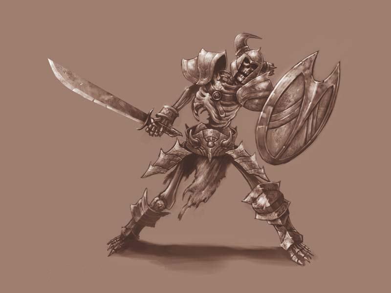 Скелеты в Diablo 3