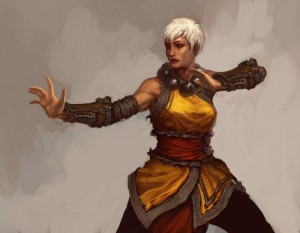 Монах-женщина в diablo 3