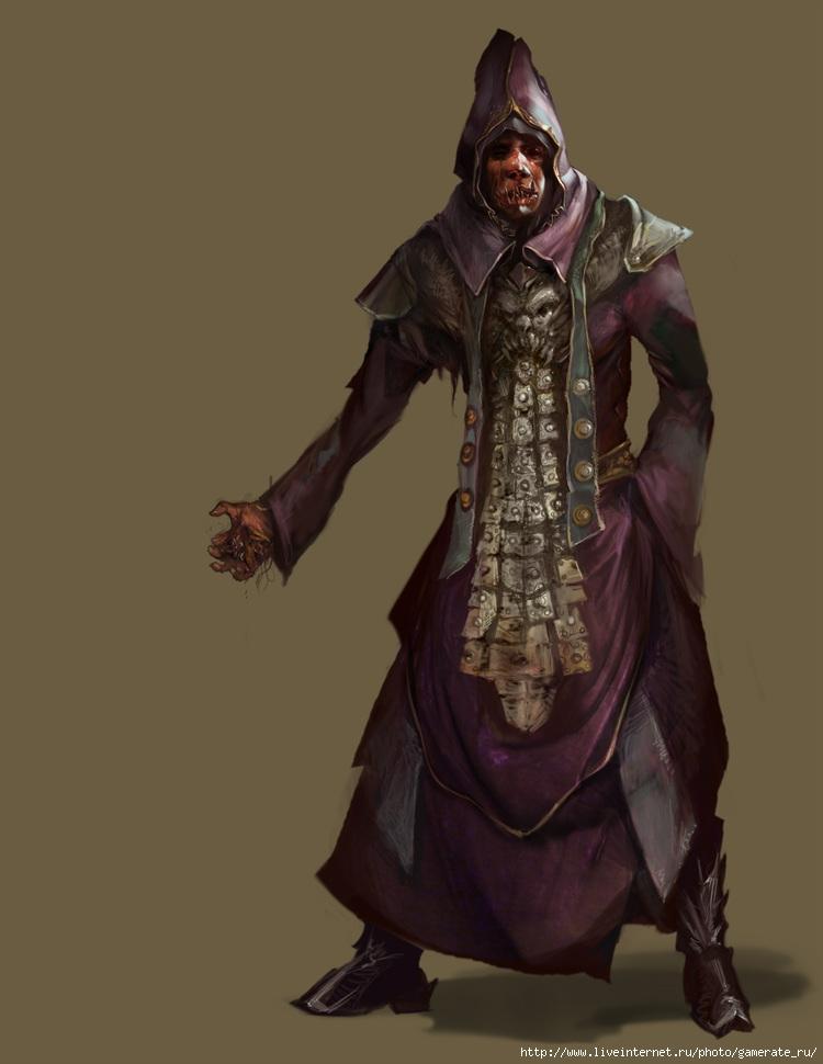 Тёмные служители в Diablo 3