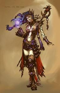 Волшебница в Diablo 3