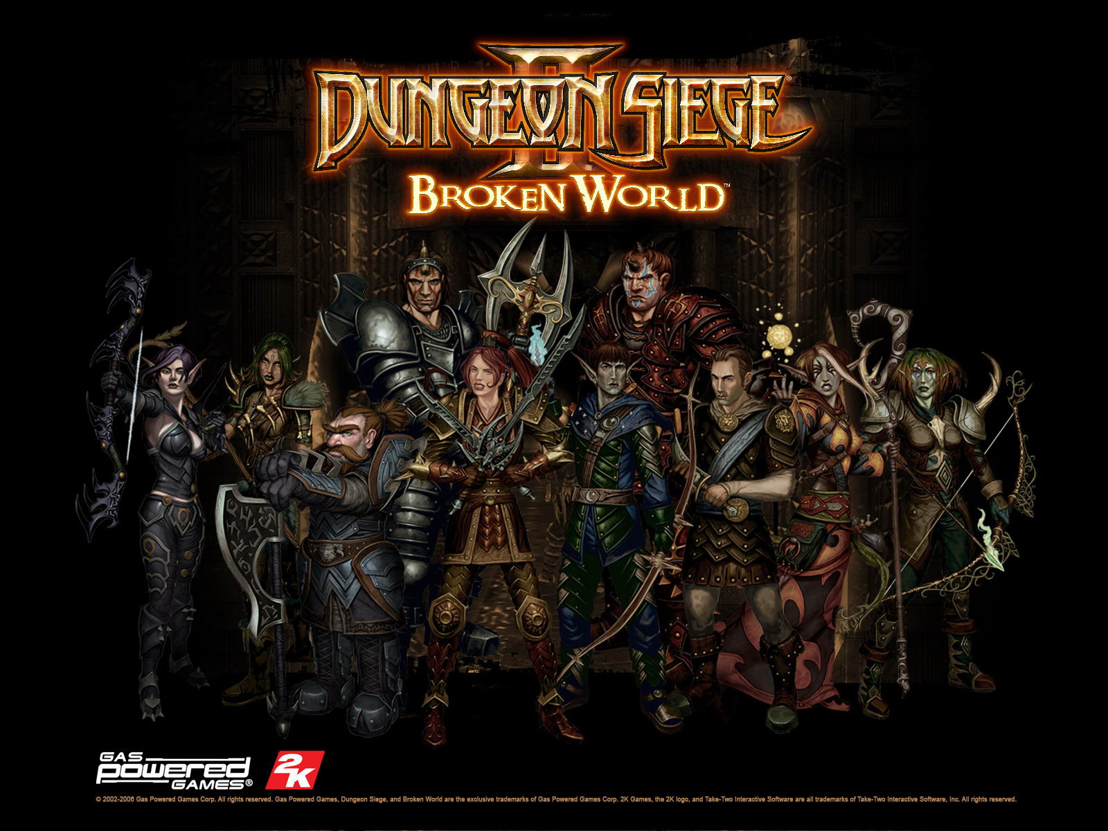 DUNGEON SIEGE 2 ПАТЧИ