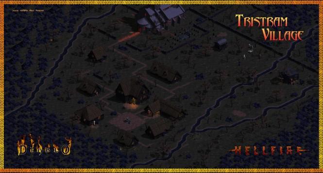Деревня Тристрам в Diablo