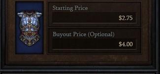 Компания Blizzard объявила об открытии аукциона с использованием реальных денег и платежных систем в Европе и США