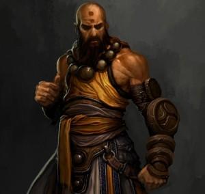Монах в Diablo 3