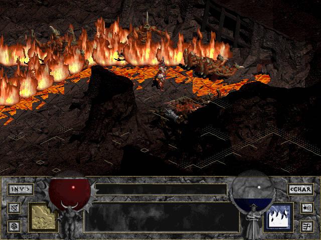 Пещеры и ад в Diablo